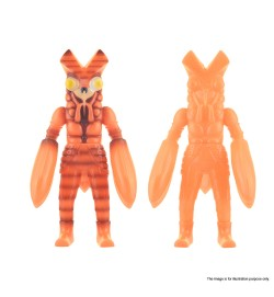 VINART Baltan - Burning Splint + Glowing Splint Ver. Vinyl Figure Set