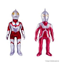 Metallic Ultraman + Metallic Ultraseven