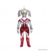 VINART 超人之母電鍍色版搪膠公仔