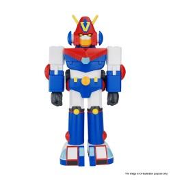 DX VINART 超力電磁俠分合體式搪膠機械人