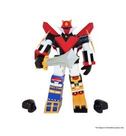 SUPER ROBOT VINART 宇宙大帝搪膠機械人