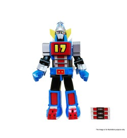 SUPER ROBOT VINART Daitetsujin 17 Vinyl Figure